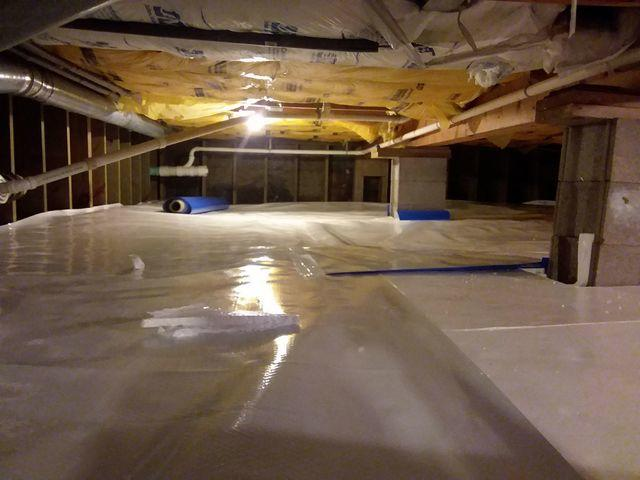 Crawl Space Waterproofing in Duluth, MN
