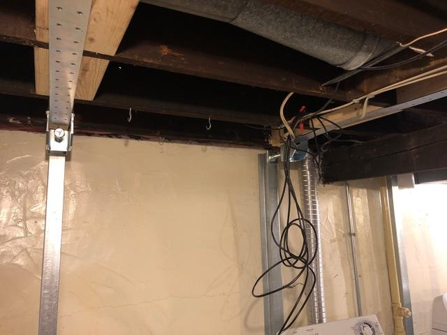 Foundation Wall Support in Duluth, MN