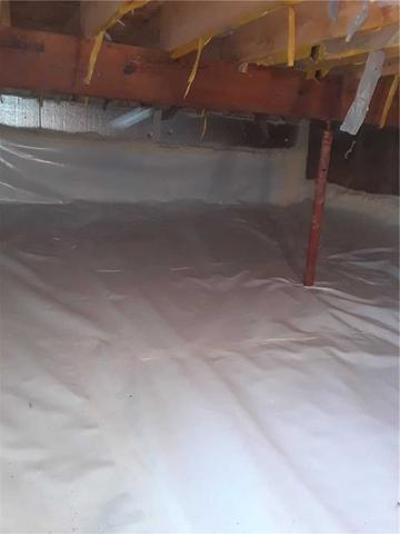 Crawl Space Waterproofing in Sturgeon Lake, MN - After Photo