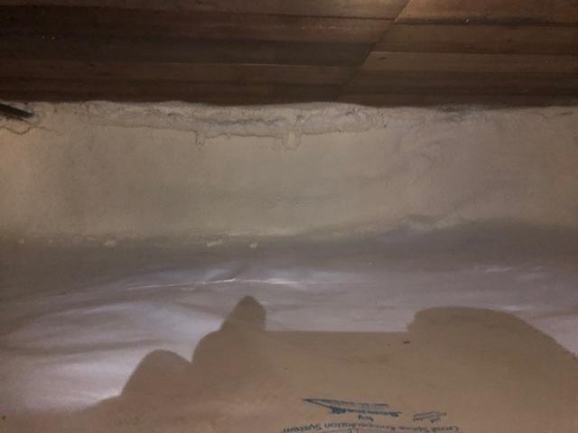 Crawl Space Revamped in Superior, WI