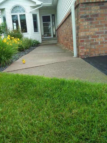 Concrete Sidewalk Lifting in Cloquet, MN