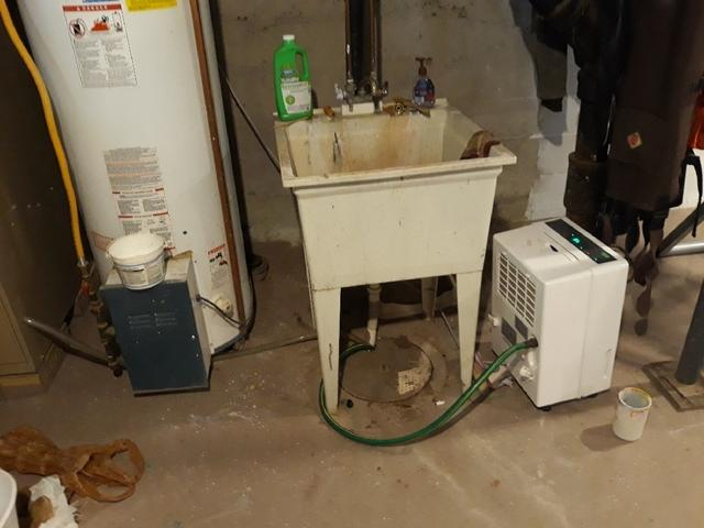 Basement Sump Pump Installation in Superior, WI