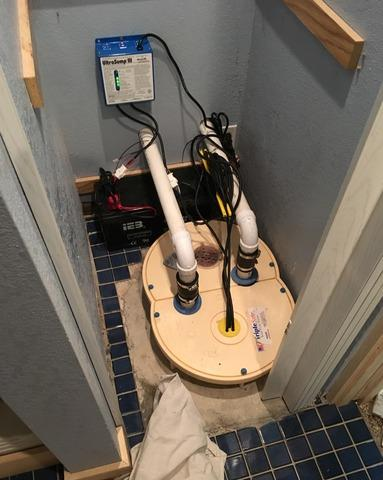 South Range, WI Home Upgraded to TripleSafe® Sump Pump and SaniDry™ Dehumidifier