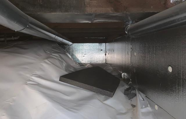 CleanSpace® Installed in Duluth, MN Crawlspace