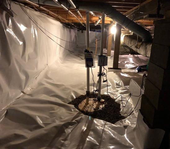 Flooded Basement Kept Dry Using CleanSpace and TripleSafe™ Sump Pump in Hayward, MN
