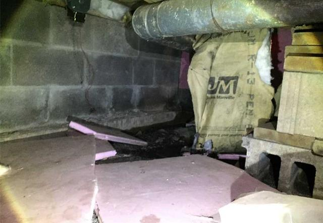 WaterGuard® and Spray Foam Installed in Duluth, MN Crawlspace