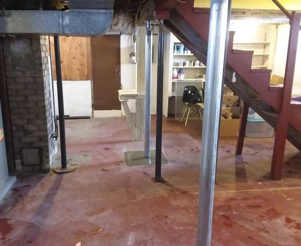 Basement Stabilized in Duluth, MN