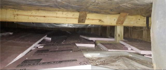 Failing Wood Supports Replaced With SmartJack® System in Herbster, WI