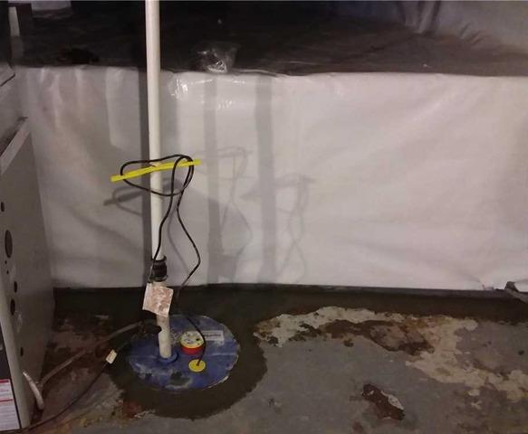 WaterGuard® and SuperSump® Pump Restore Superior, WI Basement