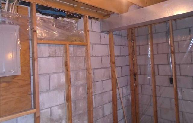 Wall Stabilization in North Minneapolis, MN Home