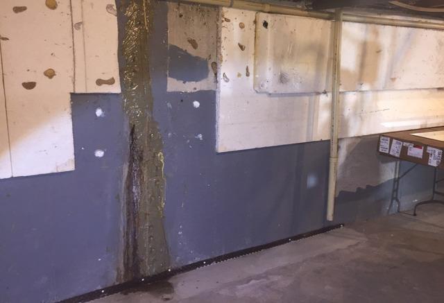 Wall Stabilization in Poplar, WI