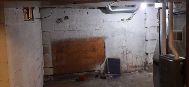 Failing Walls Fixed in Duluth, MN Basement