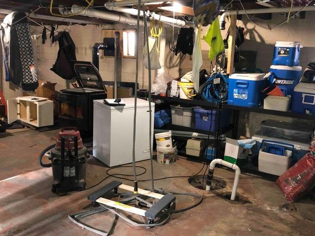 WaterGuard® Keeps Superior, WI Basement Dry