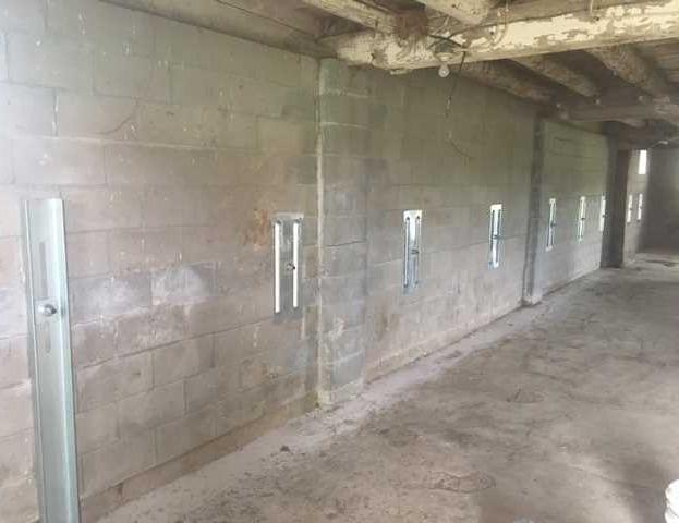 GeoLock® System Stabilizes Fall Creek, WI Basement Walls