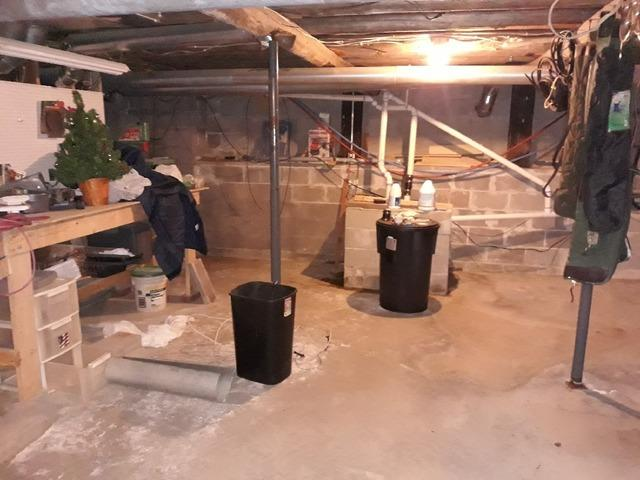 WaterGuard® Installed in Damp Cotton, MN Basement