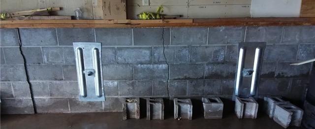 GeoLock® System Stabilizes Cracked Garage Walls in Duluth, MN