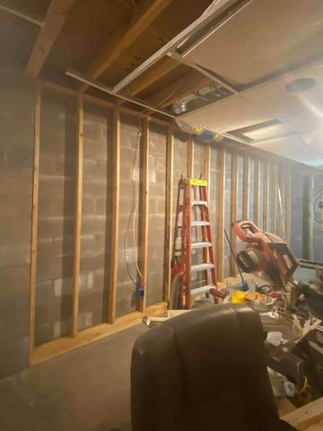 Basement Made Energy Efficient in Duluth, MN