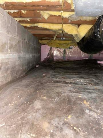 Crawl Space Spray Foam Insulation By Dr. Energy Saver in Excelsior, MN - Before Photo
