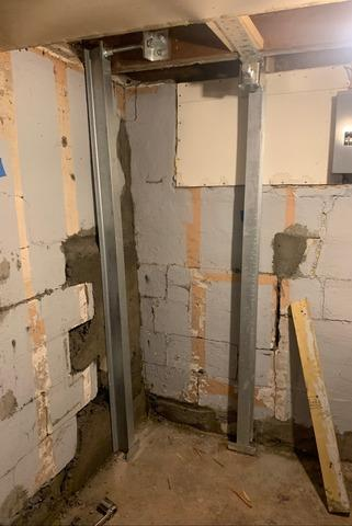 Supportworks Basement Wall Stabilization In Duluth, MN