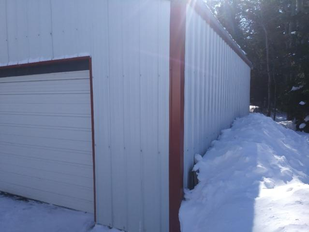 Helical Piers Save Sinking Garage in Two Harbors, MN