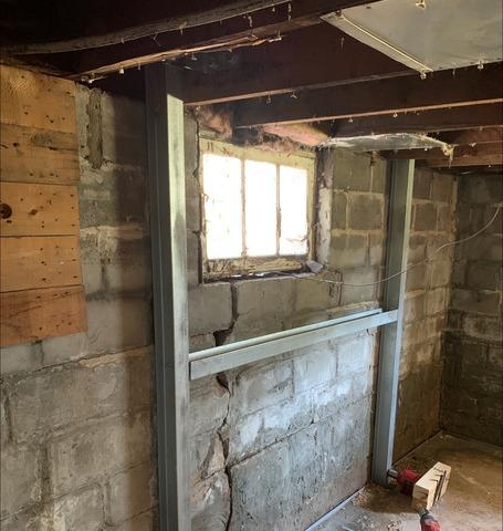 Duluth, MN Basement Stabilized With Supportworks® Products