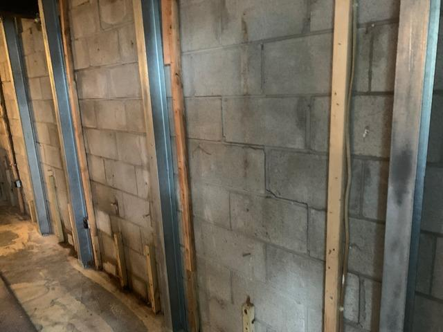 Bowing Wall in Tower, MN Restored Will PowerBrace System