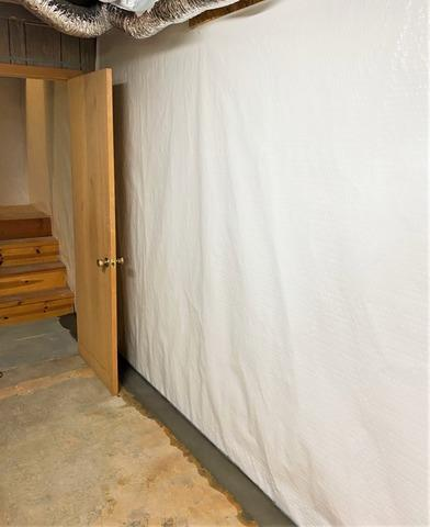 Waterproofing System Installed in Leaky Saint Croix Falls, WI Basement