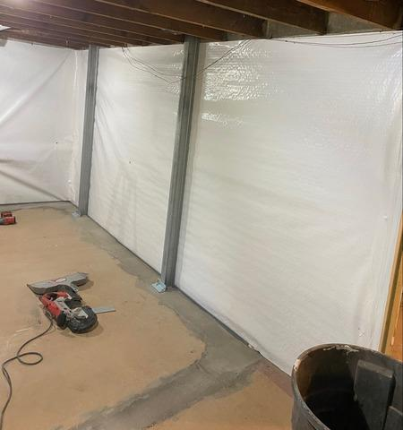 Cracked and Leaky Basement Walls Made Dry With DBS Repair In Superior, Wisconsin