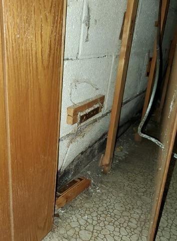 Failing Cinder Block Foundation Walls Repaired By DBS Repair In Duluth, Minnesota