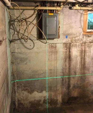 Cracking Basement Walls Repaired In Duluth, MN With Supportworks® Products