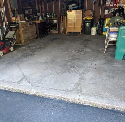 Sinking Concrete Garage Slab Repaired By DBS Residential Solutions in Duluth, MN