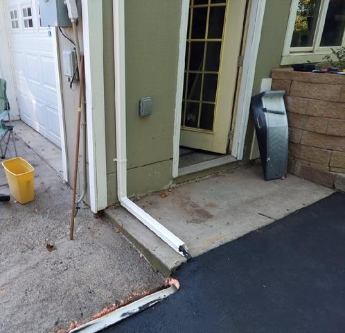 Garage Foundation Settlement in Duluth, MN