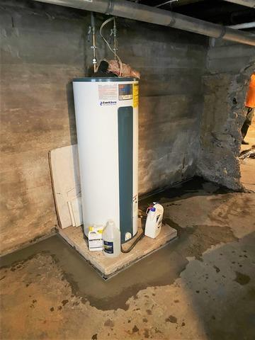 WaterGuard® French Drain System Installed to Keep Carlton, MN Basement Dry