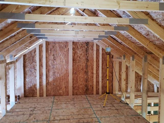 Spray Foam Insulation for New Construction Garage in Duluth, MN