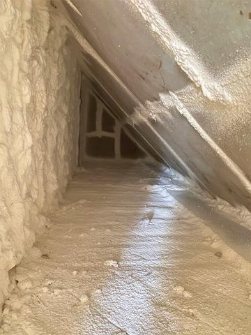 Superior, WI Homeowner Insulate Attic to Stop Ice Dams