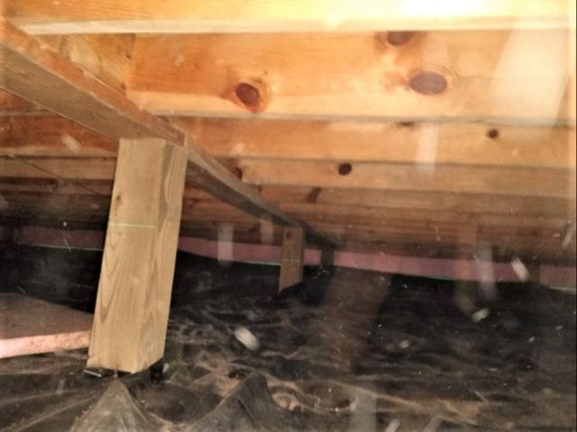 Crawl Space Repair in Hayward, WI to Stabilize Sinking Floors