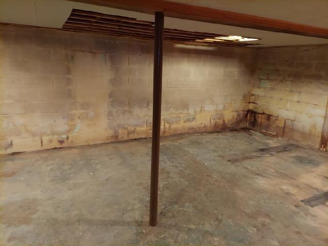Cracked Foundation and Leaky Basement Repaired in Washburn, WI
