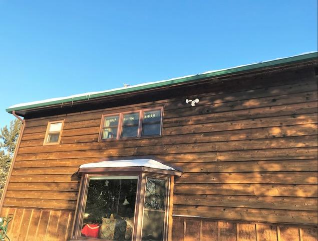 Drafty Cabin in Ely, MN Insulated to Save Energy and Stop Ice Dams