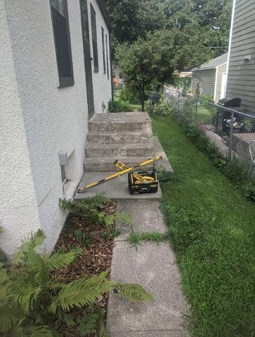 DBS Lifts and Levels Concrete Sidewalk in St Louis Park, MN Home