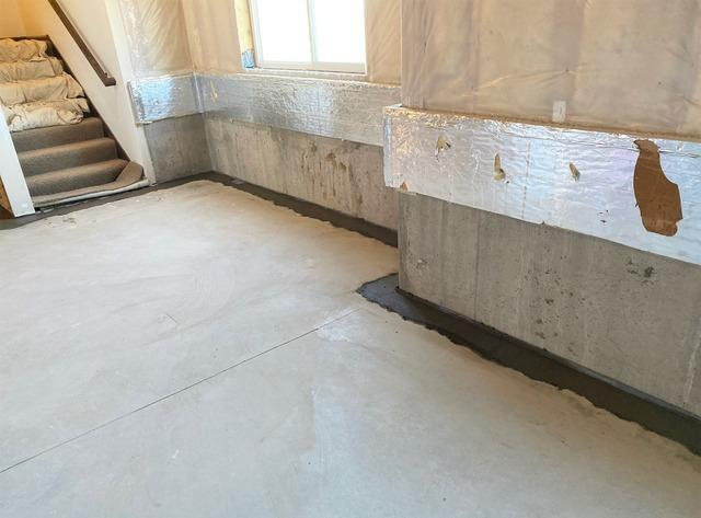 Waterproofing System Installed in Farmington, MN to Stop Pooling Water