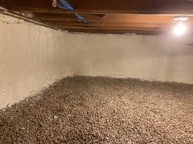 Eden Prairie, MN Homeowners Insulate Dirt Crawl Space