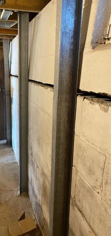 Mora, MN Basement Stabilization Project By DBS Residential Solutions