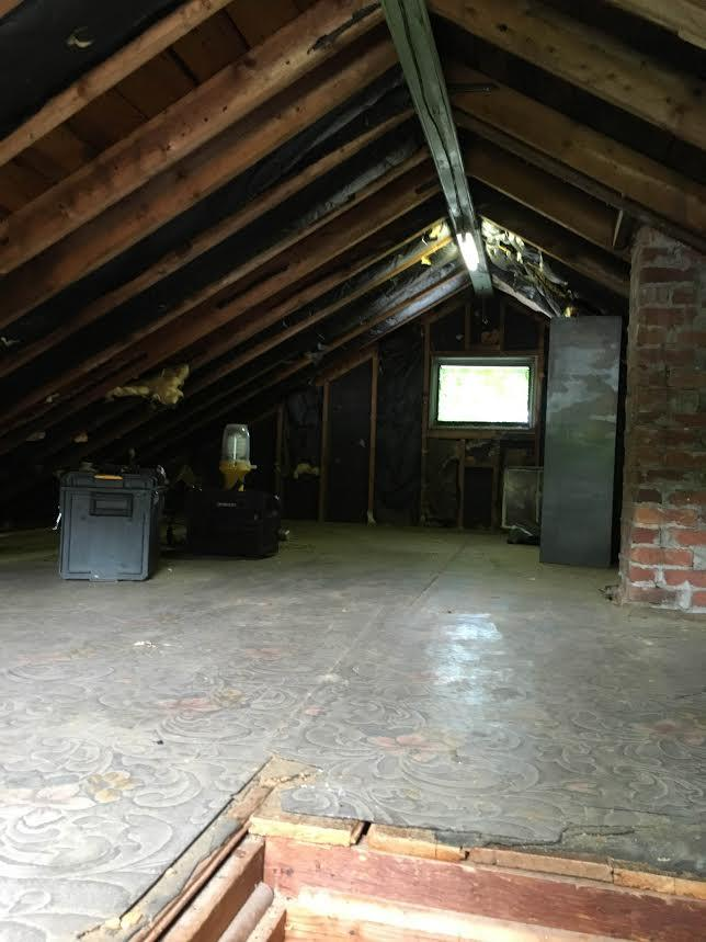 Super Attic in East Hartford, CT - Before Photo