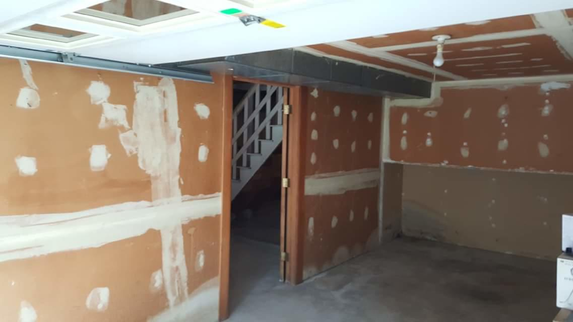 Total Garage Finishing in Pittsfield, MA - Before Photo
