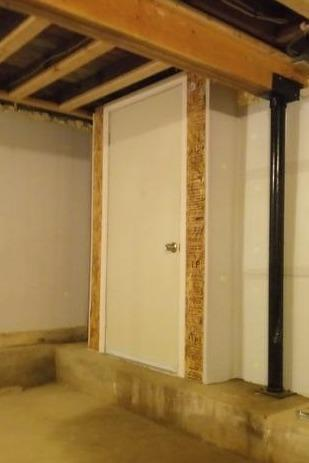 Upgrading Exterior Door to Crawlspace in Richmond, MA - After Photo
