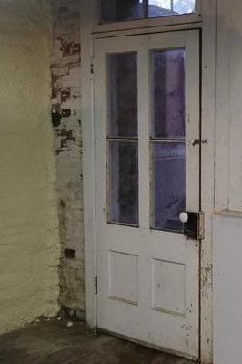 Replacing Basement Hatch Door in Lenox, MA - Before Photo