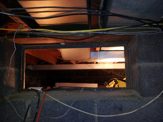 Crawl Space Repaired and Sealed in Northampton, MA