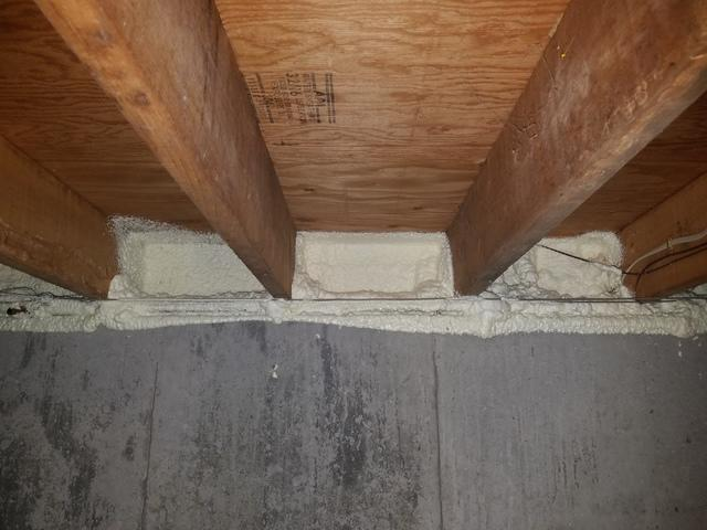 Insulating a Rim Joist in Westfield, MA