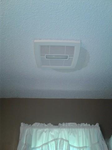 Installing a Bath Fan in Coventry, CT - After Photo