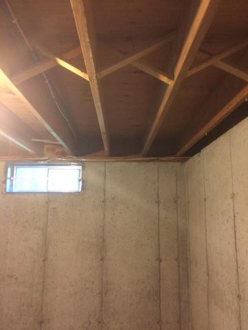 Insulating a Rim Joist in Simsbury, CT